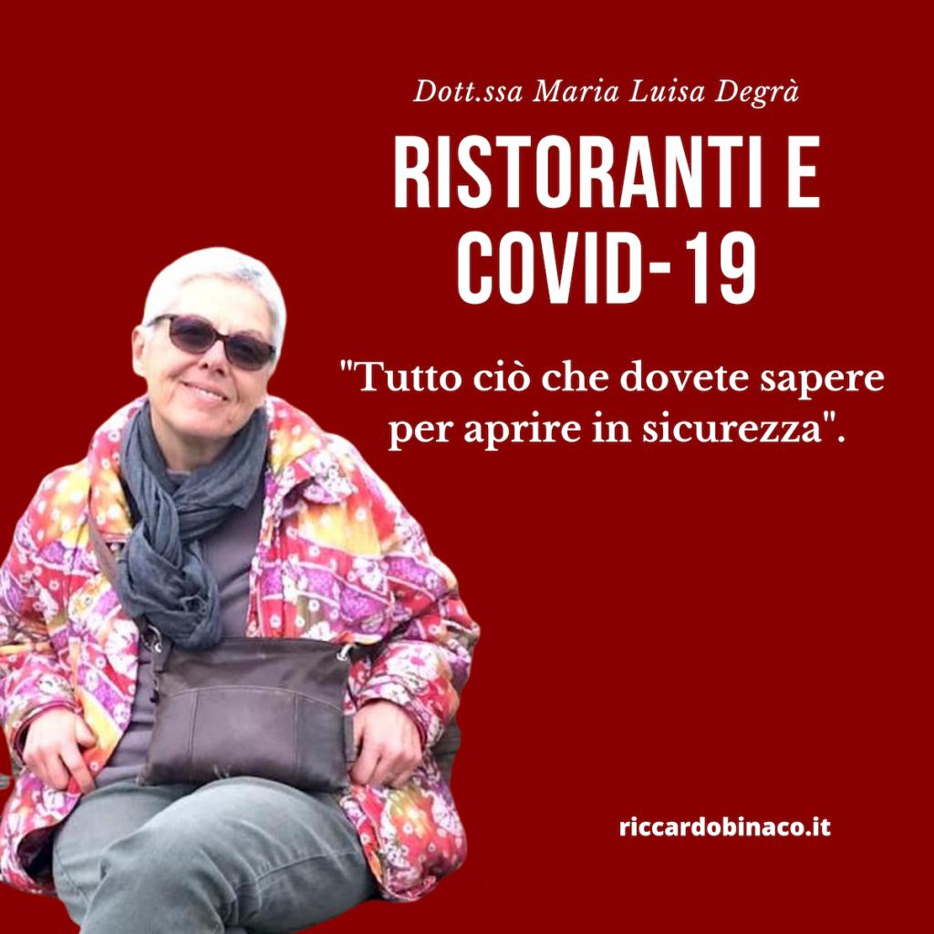 Ristoranti covid-19 coronavirus fase 2