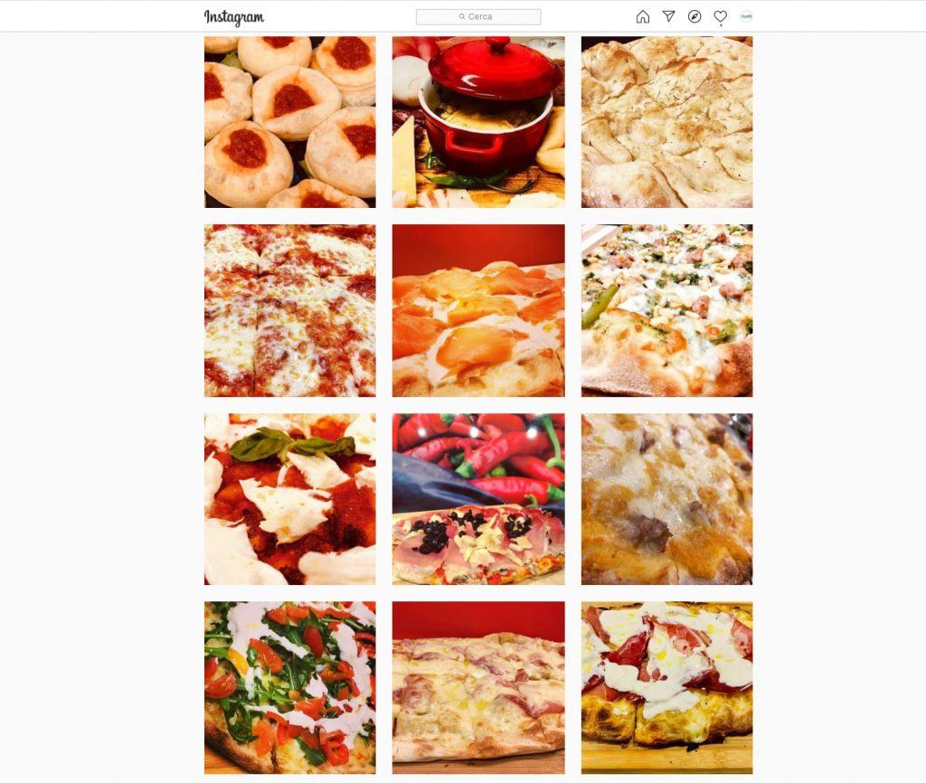 feed instagram ristoranti