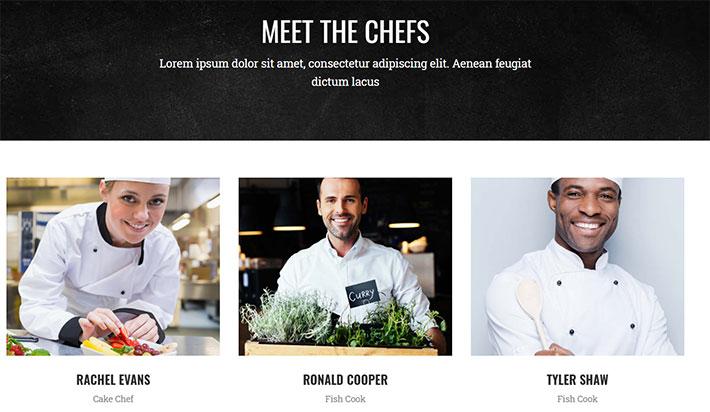 presenta i tuoi chef